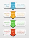 Infographics biznesu pojęcie Obrazy Stock