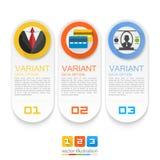Infographics biznesu wiadomość Obraz Stock