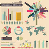Infographics. Buisiness Stock Image