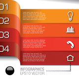 Infographics-bulb-361a.jpg Royalty Free Stock Images