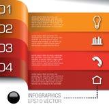 Infographics-bulb-361a stock illustration