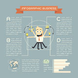 Infographics business Stock Photos