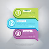 Infographics business concept of strage template. Infographics elements. Creative business concept of stage, parts, steps. Template for chart, presentation Royalty Free Stock Images