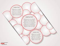 Infographics circle Royalty Free Stock Image
