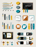 Infographics collection Royalty Free Stock Photo