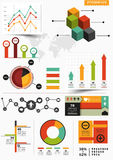Infographic Vector Set Royalty Free Stock Photography