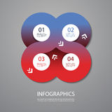 Infographics Cover Design Stock Photography