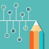 Infographics criativo Ilustração conservada em estoque Imagem de Stock Royalty Free