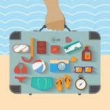 Infographics d'été Images libres de droits