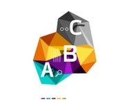Infographics d'ABC Images libres de droits