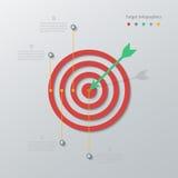 Infographics de papel de la blanco libre illustration