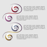 Infographics de vecteur Images stock