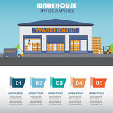 Infographics del magazzino Fotografie Stock