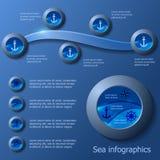 Infographics del vector Fotografía de archivo