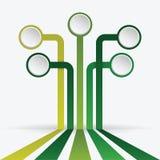 Infographics design Arkivfoto
