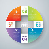 Infographics design Royaltyfria Bilder