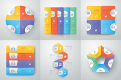 Infographics design. Royalty Free Stock Photos
