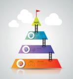 Infographics design. Royalty Free Stock Photo