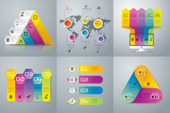 Infographics design. Royalty Free Stock Images