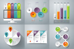 Infographics design. Royalty Free Stock Photos