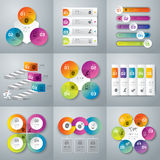 Infographics design. Royalty Free Stock Photography