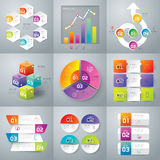 Infographics design. Stock Photography