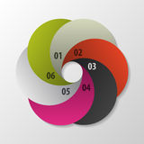 Infographics design concept. Vector illustration Royalty Free Stock Images