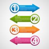 Infographics design element. Vector illustration. Stock Images