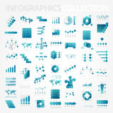 Infographics design elements collection Royalty Free Stock Image