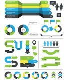 Infographics design elements Royalty Free Stock Image