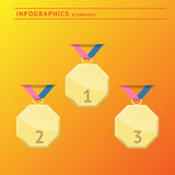 Infographics design elements. With space for text royalty free illustration