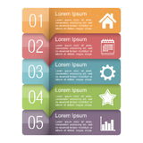 Infographics Design Elements Stock Photography