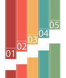 INFOGRAPHICS design elements vector illustration Royalty Free Stock Photography