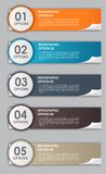 INFOGRAPHICS design elements vector illustration Royalty Free Stock Image