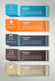 INFOGRAPHICS design elements vector illustration Royalty Free Stock Photos
