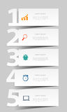 INFOGRAPHICS design elements vector illustration Stock Photos