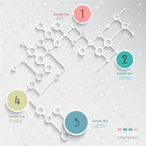 Infographics design Stock Images