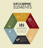 Infographics Royalty Free Stock Photography