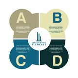 Infographics. Design over white  background vector illustration Royalty Free Stock Images