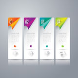 Infographics design template. Royalty Free Stock Image