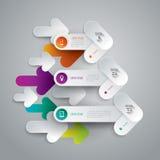 Infographics design template. Royalty Free Stock Photos