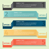 Infographics design template banner Stock Photography