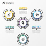 Infographics design template. Business concept with 3 steps. Vector illustration vector illustration