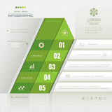 Infographics design template with business icons, process diagra Royalty Free Stock Photography