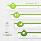 Infographics design template with icons, process diagram, vector Royalty Free Stock Image
