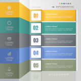 Infographics design template with icons, process, vector Stock Image
