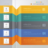 Infographics design template with icons, process, vector Stock Photos