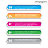 Infographics Design template Stock Photography