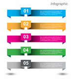 Infographics Design Template Royalty Free Stock Photography