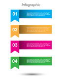 Infographics Design Template Royalty Free Stock Photo
